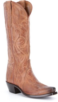 Lucchese Patsy Block Heel Boots