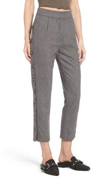 J.o.a. Button Side Crop Trousers