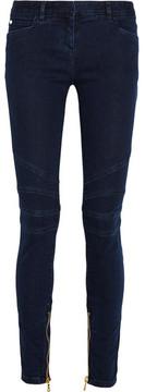 Balmain Mid-rise Skinny Jeans - Mid denim