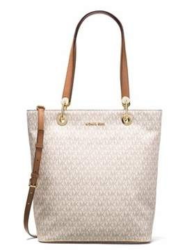 Michael Kors Raven Large North South Tote - Vanilla - 30S7GRXT3V-150 - OFF-WHITE - STYLE