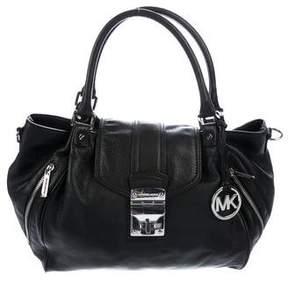 MICHAEL Michael Kors Grained Leather Hobo