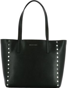 Michael Kors Black Leather Shoulder Bag - BLACK - STYLE
