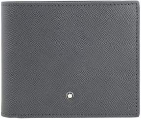 Montblanc Sartorial 8CC Dark Grey Leather Wallet