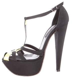 Giambattista Valli Neon Platform Sandals