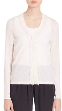 Elie Tahari Tiffany Merino Wool Sweater
