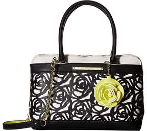 Betsey Johnson Roses Satchel Satchel Handbags