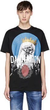 DSQUARED2 Black Damnation T-Shirt