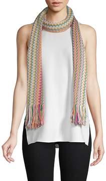 Missoni Women's Multicolored Long Scarf
