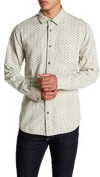 Jeremiah Odell Reversible Plaid Print Shirt