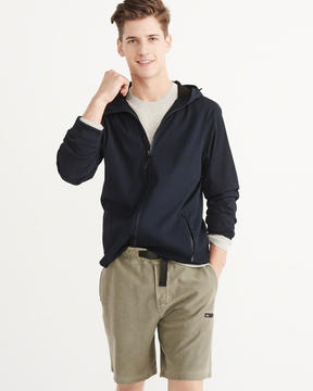 Abercrombie & Fitch Crepe Stretch Windbreaker