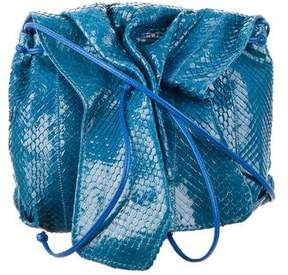 Carlos Falchi Small Python Crossbody Bag