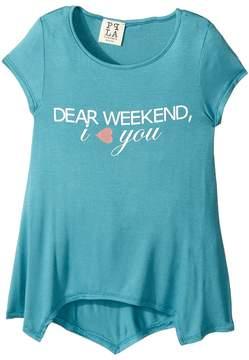(+) People People Dear Weekend Knit Tee (Big Kids)