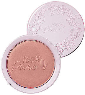 100% Pure Powder Blush.