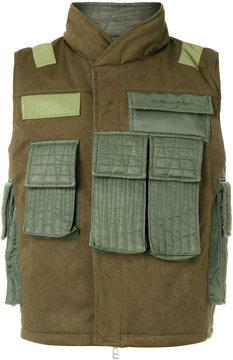 MHI multi-pocket gilet