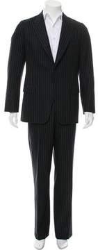 Dries Van Noten Wool Pinstripe Suit