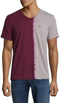 Cult of Individuality Men's Colorblocking Cotton Tee