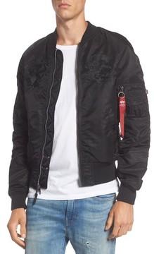 Alpha Industries Men's Reversible Souvenir Jacket