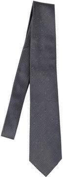 Giorgio Armani 8cm Striped Silk Tie
