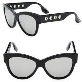 McQ 54MM Cat Eye Sunglasses