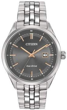 Citizen Eco-Drive BM7251-53H Grey/Silver Stainless Steel Analog Men's Watch