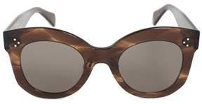 Celine Cat Eye Sunglasses 41443s 07b 2k 50.