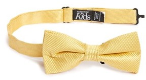 Nordstrom Boy's Solid Silk Bow Tie