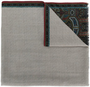 Etro traditional style printed scarf