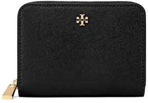 Tory Burch ROBINSON ZIP COIN CASE - BLACK - STYLE