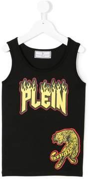 Philipp Plein Junior rock tank top