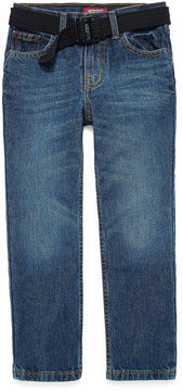 Arizona Original Fit Belted Jeans Boys