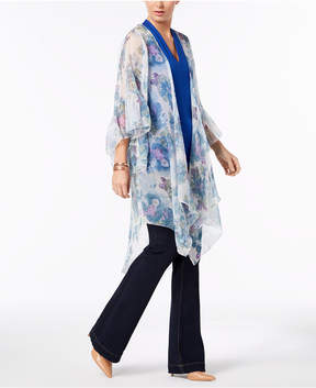INC International Concepts I.n.c. Ruffled Floral Kimono & Cover-Up, Created for Macy's