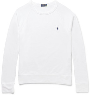 Polo Ralph Lauren Loopback Cotton-Jersey Sweatshirt