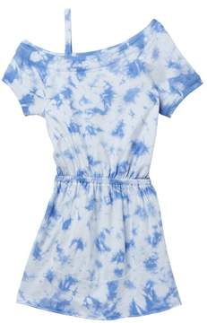Splendid One Shoulder Tie Dye Dress (Big Girls)