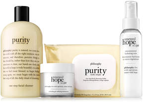 philosophy Purity & Hope On-the-Go Four-Piece Skincare Set