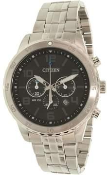 Citizen Men's AN8130-53E Silver Stainless-Steel Quartz Dress Watch