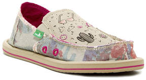 Sanuk Printed Slip-On Shoe (Little Kid & Big Kid)