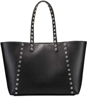 French Connection Ansley Smooth Grommet Tote Bag
