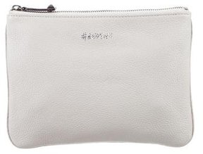 Rebecca Minkoff Leather Cosmetic Bag