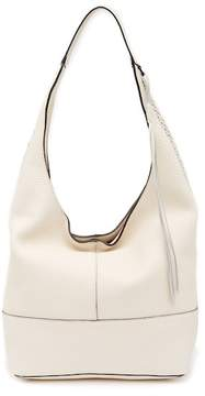 Rebecca Minkoff Unlined Slouchy Leather Hobo with Whipstitch