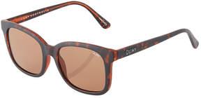 Quay Kingsley Square Plastic Sunglasses