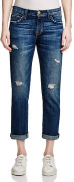 Current/Elliott The Fling Boyfriend Jeans in Loved Destroyed