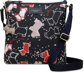 Radley London Speckle Dog Top-Zip Medium Crossbody
