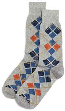 Bloomingdale's The Men's Store at Pop Mini Argyle Socks - 100% Exclusive