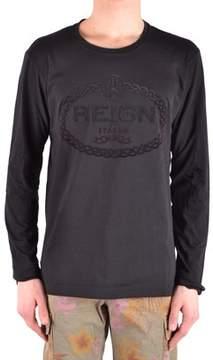 Reign Men's Black Cotton Sweater.