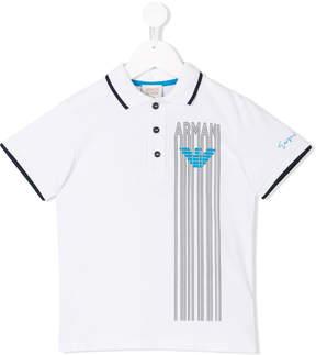 Emporio Armani Kids short sleeve polo shirt