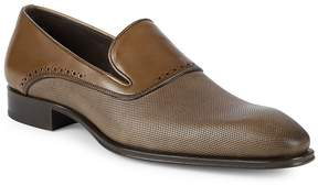 Mezlan Men's 18431 Perforated Leather Loafers