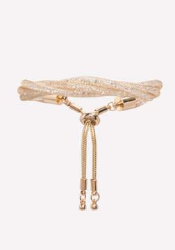 Bebe Mesh Twist Bracelet