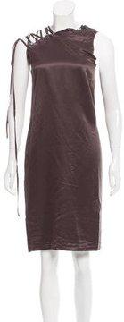 A.F.Vandevorst A.F. Vandevorst Lattice Shoulder Knee-Length Dress w/ Tags