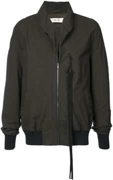 Damir Doma raw collar bomber jacket