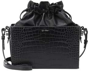 Off-White Crocodile embossed leather bag